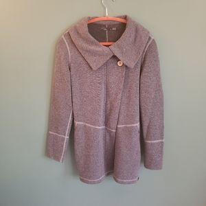 Prana wrap style jacket